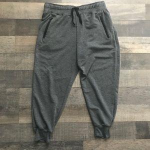 New York Laundry Active Gray track Pants/Joggers